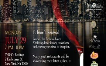 3rd Annual Food & Wine Event to benefit Renewal
