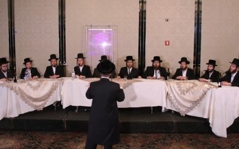 Rousing Shir Hamaalos Acappella Performance with Shira Choir & Levy Falkowitz