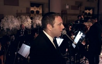 "Shimon Craimer ""Yesimcho"" From Yaakov Shwekey At The Gotham Hall"