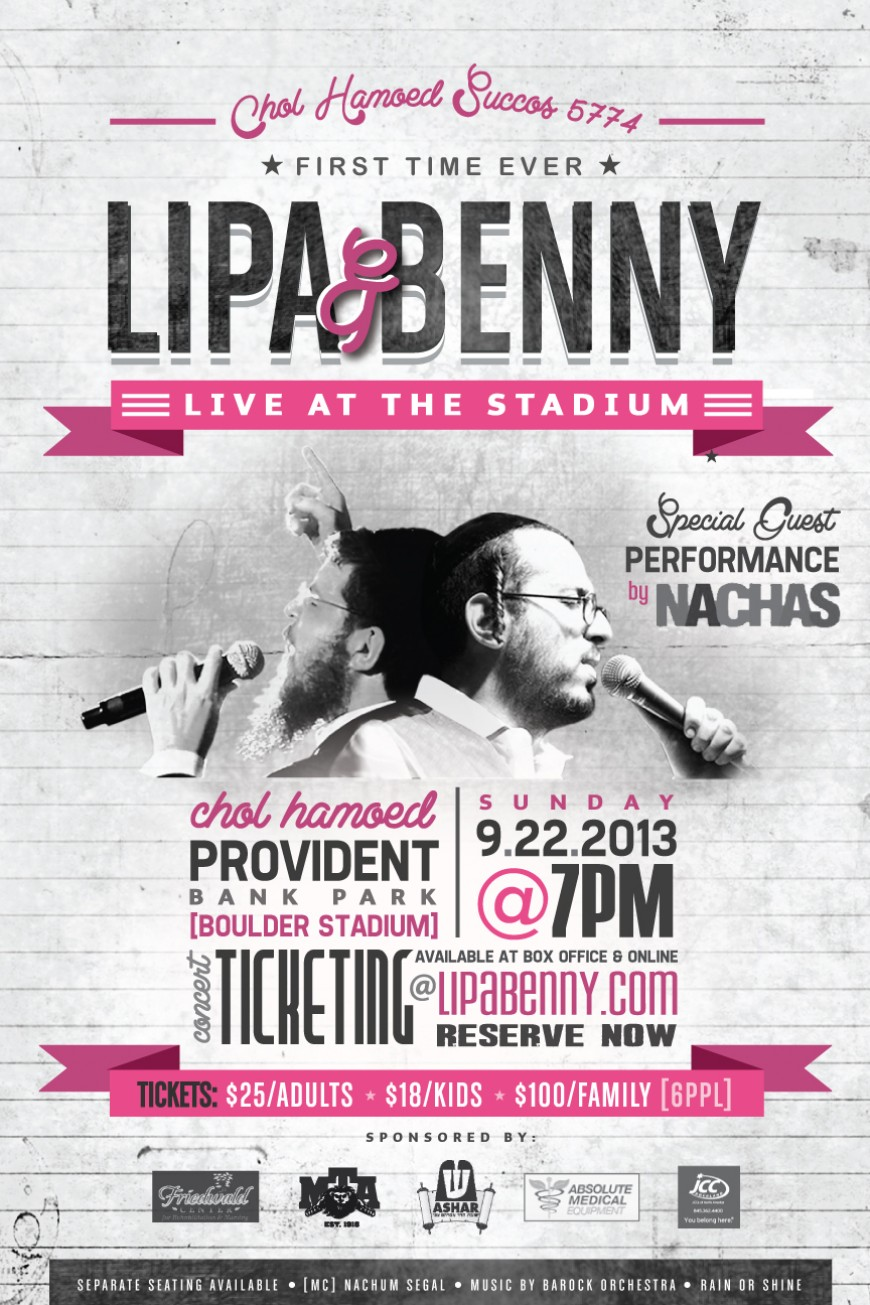 First Time Ever LIPA & BENNY Live At The Stadium