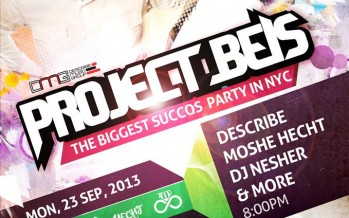 PROJECT BEIS The Biggest Succos Party Ever