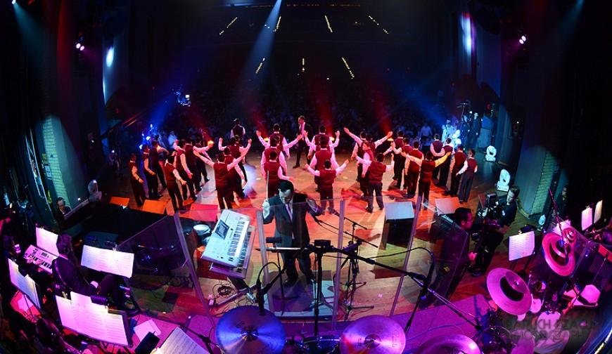 YBC Live! Succos '13 with the Chevra [Photos]