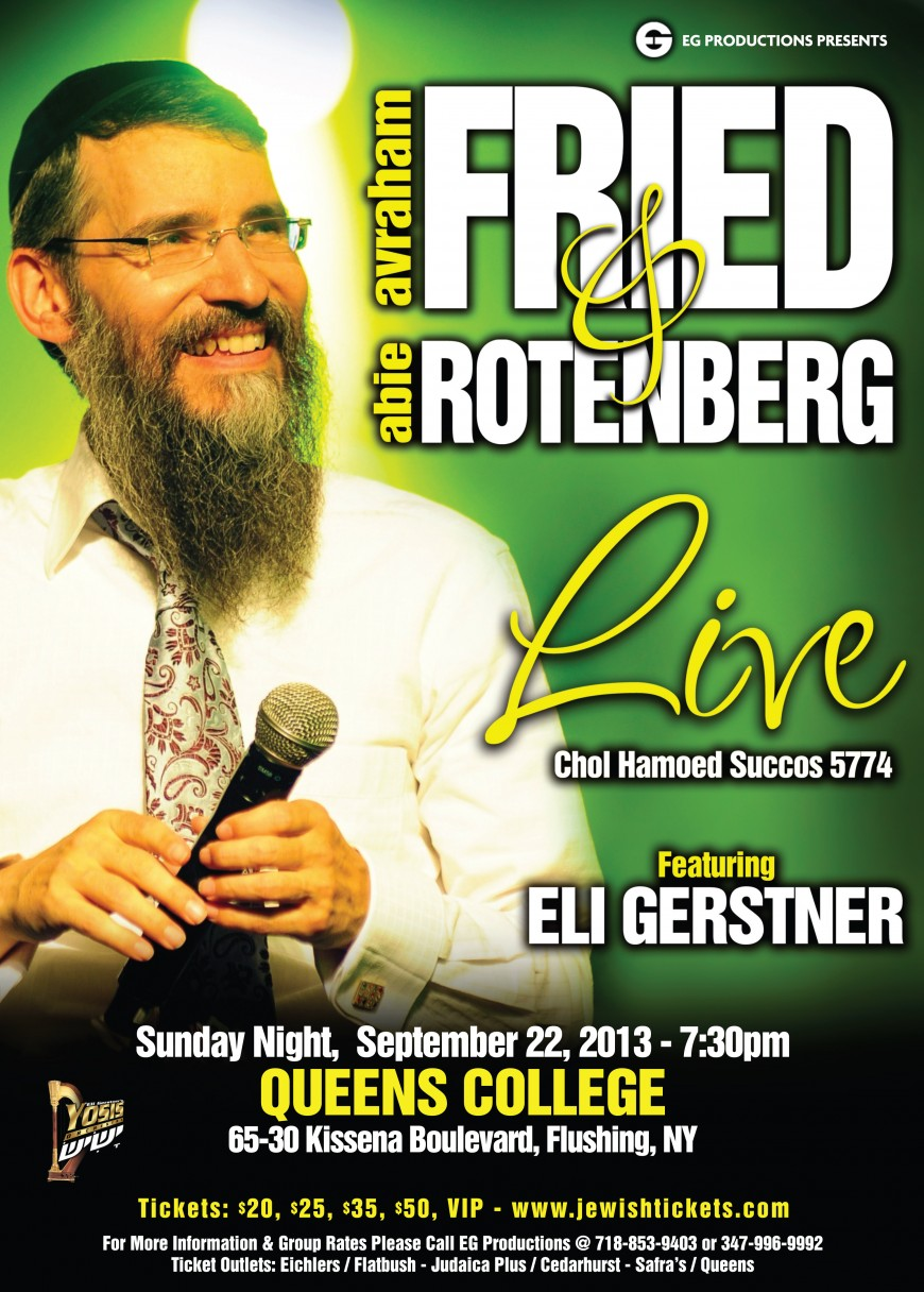 FRIED & ROTENBERG Live!