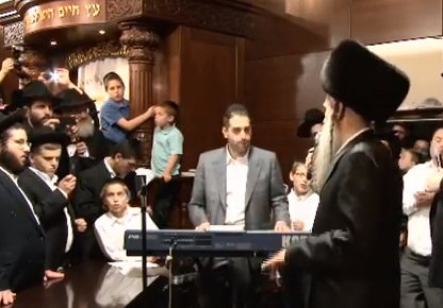 MBD Sings New Song At LA Simchas Beis Hashoeiva