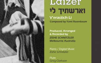 Laizer Rosenbaum Releases Single in Honor of His Bar Mitzvah