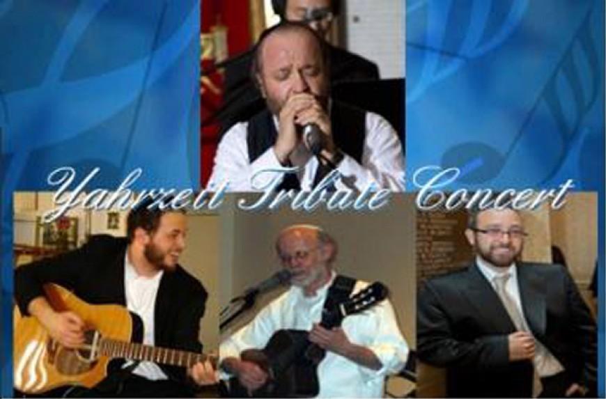 Carlebach Yahrzeit Tribute Concert