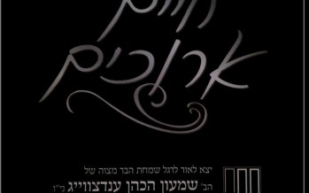 "New Song ""Chayim Areechim"" in Honor of the Bar Mitzvah of Shimmy Endzweig"