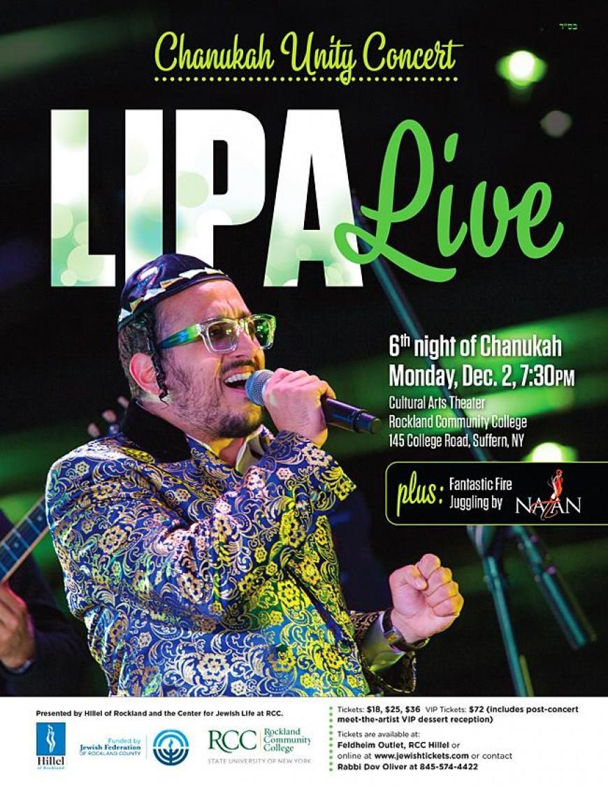 Chanukah Unity Concert With LIPA!