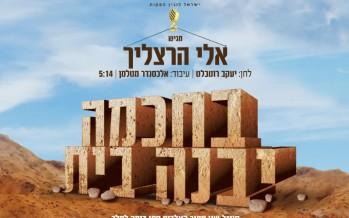 "Eli Hertzlich ""Bechochma Yibaneh Bayis"" The Official Music Video"