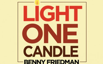 Benny Friedman – Light One Candle Music Video