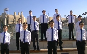 "The Shira Chadasha Boys Choir Presents ""Yiboneh"""