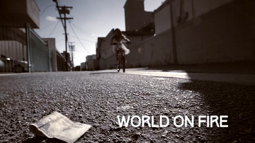 "Moshav & Matisyahu's ""World on Fire"" music video"