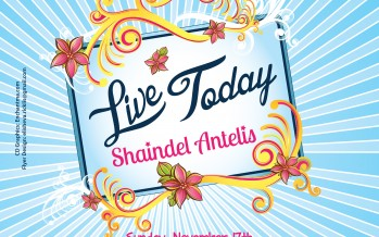 [FOR WOMEN ONLY!] Shaindel Antelis's CD RELEASE CONCERT and MUSIC VIDEO PREMIERE!