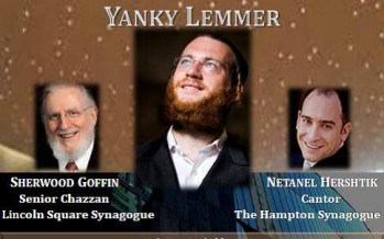 Lincoln Square Synagogue presents Inaugural Jewish Music & Cantorial Concert