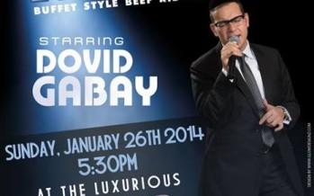 Dovid Gabay In Edmonton for Rock N' Ribs Concert!