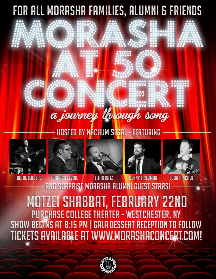 MORASHA AT 50 CONCERT: a journey through song