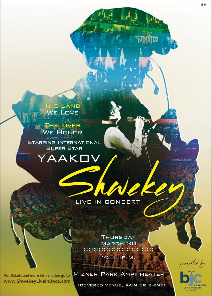 SHWEKEY LIVE IN BOCA!