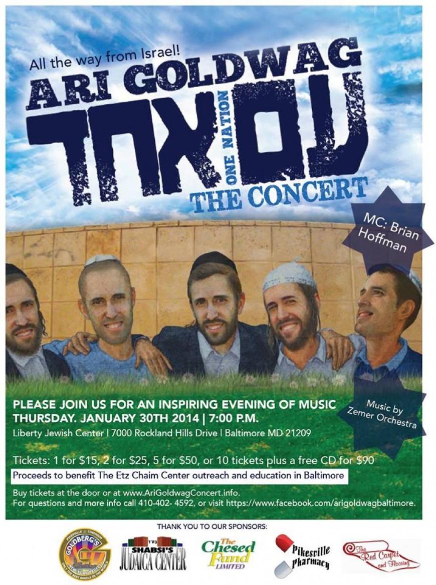Ari Goldwag- Am Echad The Concert!