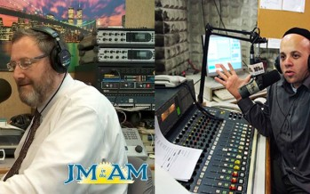 Nachum Segal & Menachem Toker Joining Each Other's Broadcasts