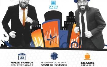 Mayan Yisroel Presents 8TH DAY @ The Tarrytown