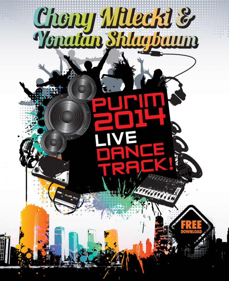 Chony Milecki & Yonatan Shlagbaum Release The Ultimate Purim Track!