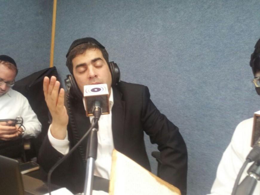 """Eli Hertzlich Simchas Yom Tov At """"Radio Kol Chai"""""""