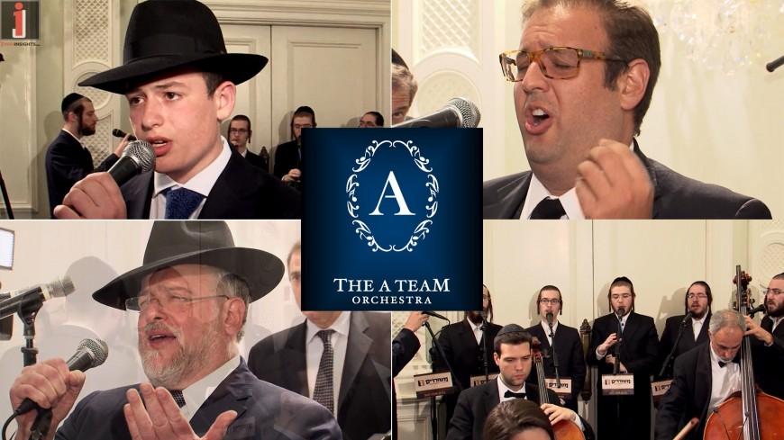 The Shwebels Singing Im Eshkocheich With The A Team & Meshorerim Choir