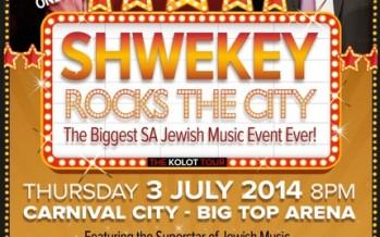 Shwekey & Baruch Levine To Rock SA!