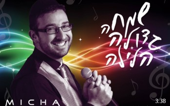 "Micha Gamerman Releases New Single ""Simcha Gedola Halaila"""