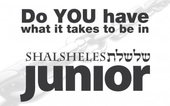 Do YOU Have What It Takes To Be In SHALSHELES JUNIOR?
