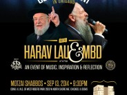 Project Refuah CONCERT EVENT IN CHICAGO: HARAV LAU & MBD