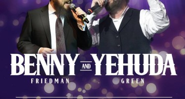 Benny Friedman & Yehuda Green Live In Concert!