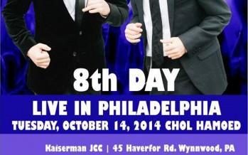 8TH DAY – LIVE IN PHILADELPHIA