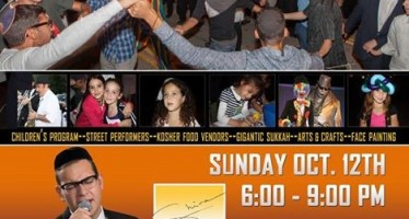 Community Sukkot Festival With Dovid Gabay