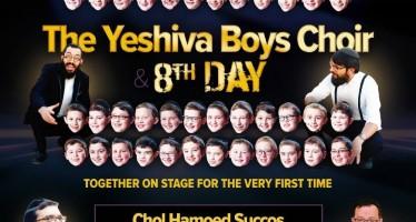 YBC LIVE! SUCCOS '14 – The YESHIVA BOYS CHOIR & 8TH DAY