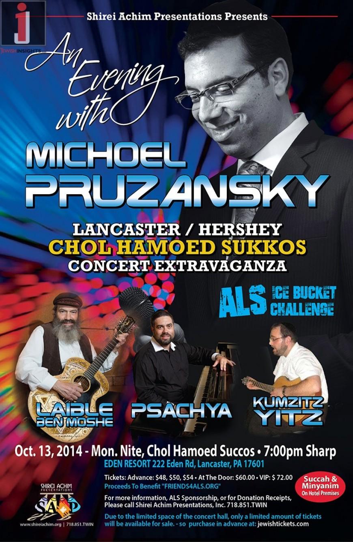 An Evening with MICHOEL PRUZANSKY