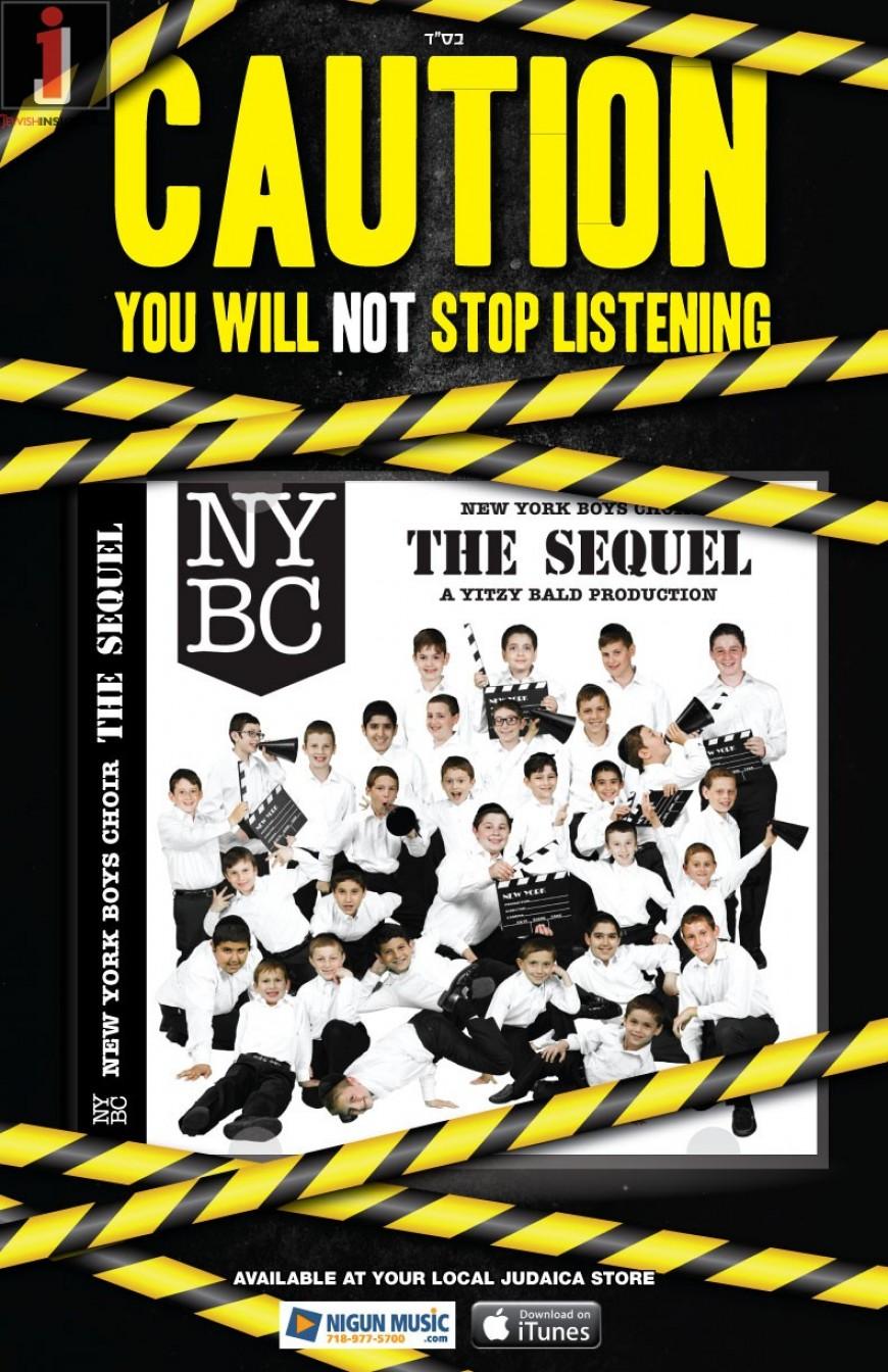 "Yitzy Bald Proudly Presents ""New York Boys Choir: The Sequel"""