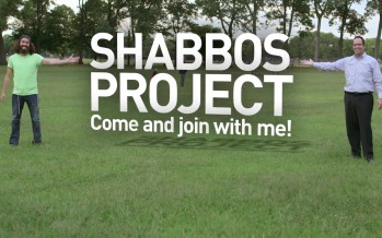 8th Day & Benny Friedman Sing for Shabbos Project