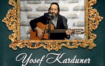 Yosef Karduner Live For CHAZAQ!