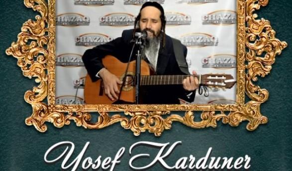 Yosef Karduner Live For CHAZAQ!
