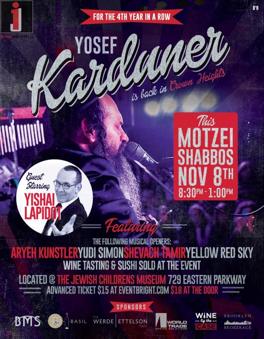 YOSEF KARDUNER IN CROWN HEIGHTS