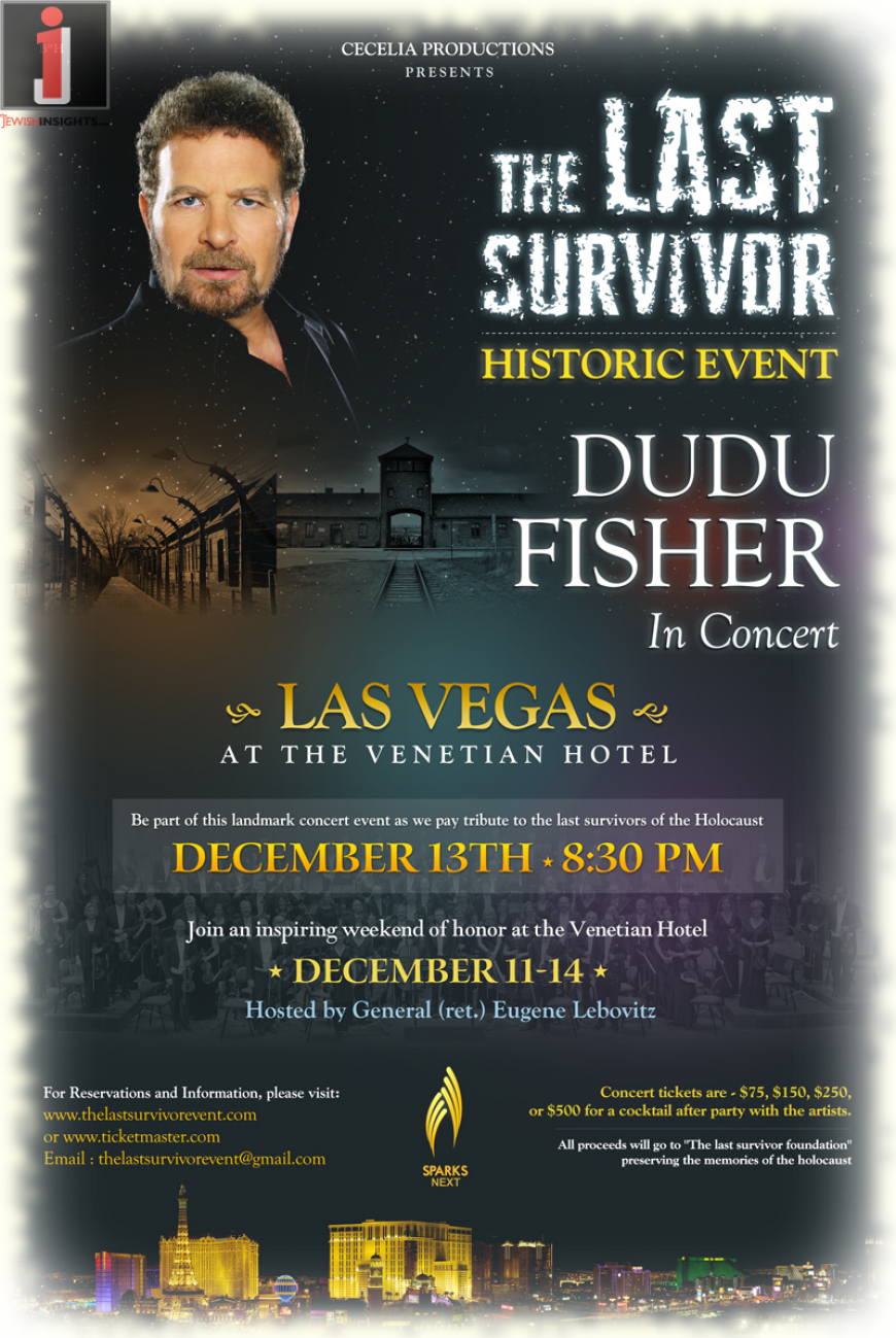 """The Last Survivor"" Tribute concert to Holocaust survivors in Vegas"