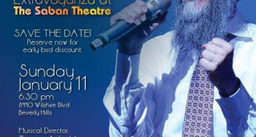 AVRAHAM FRIED Live In Concert @ The Saban Theatre L.A.