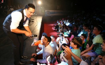 Shwekey & Leiner Perform For Ichud Hatzalah