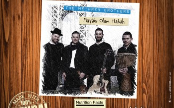 "The Weinreb Brothers Debut Album ""May'ain Olam Habah"""