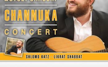 SHLOMO KATZ – LIKRAT SHABBAT CD Release Concert