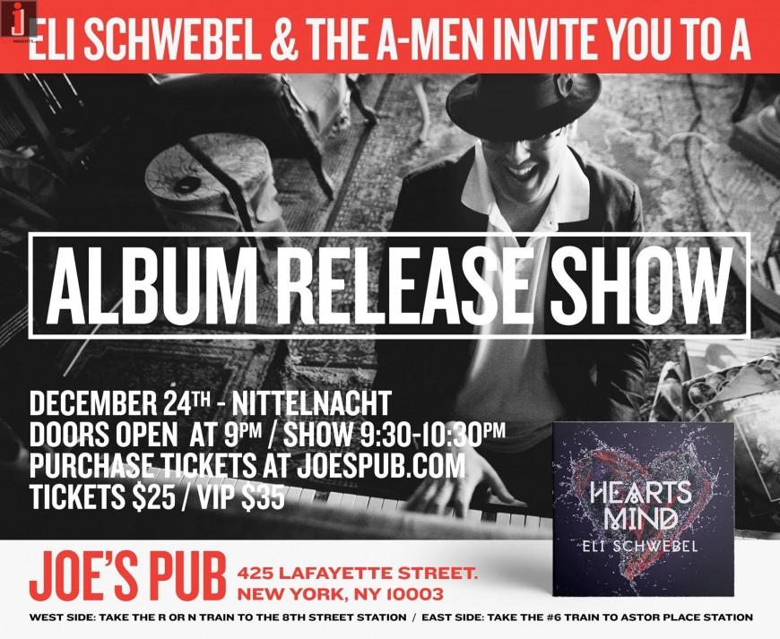 ELI SCHWEBEL & THE A MEN: ALBUM RELEASE SHOW