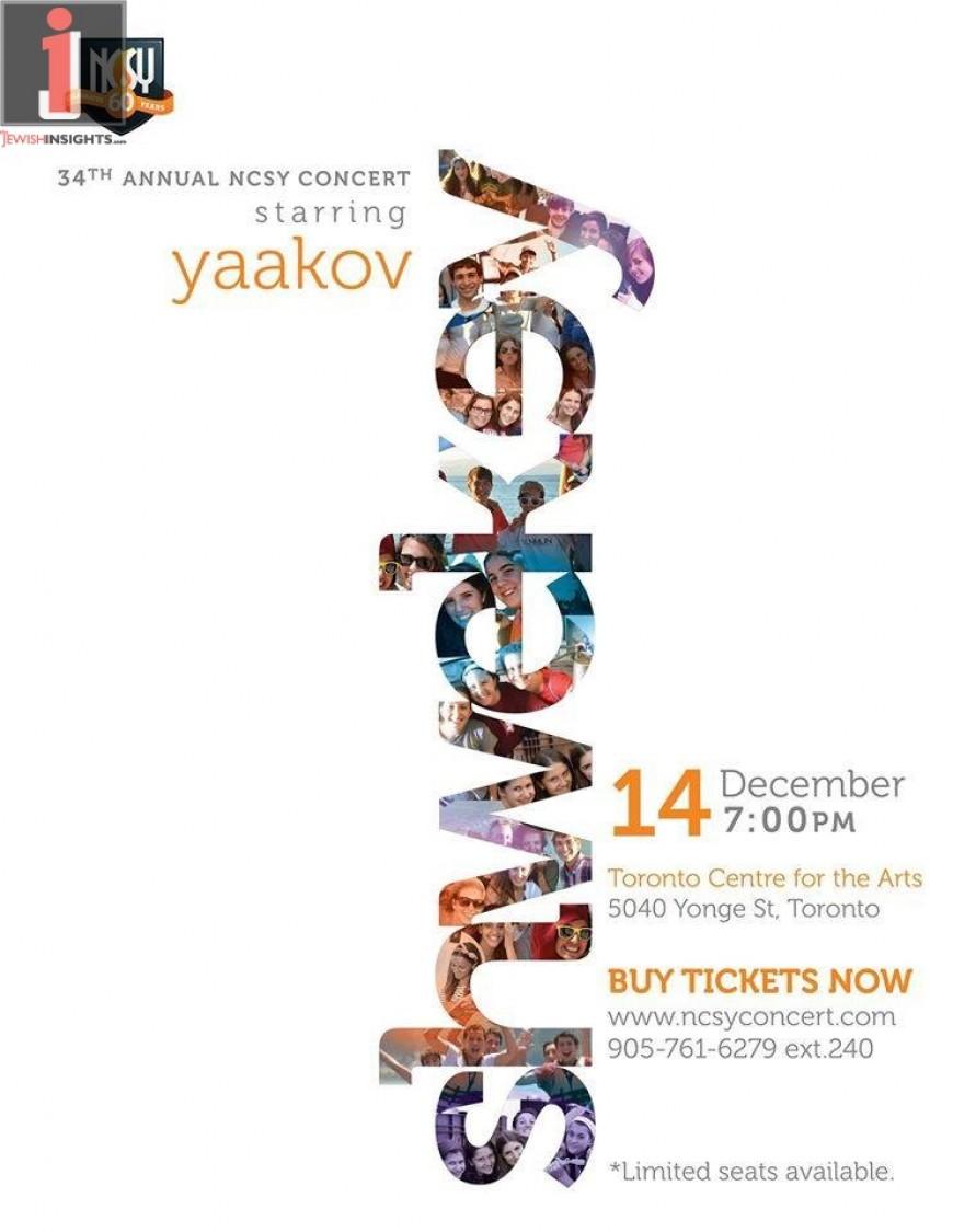 34th Annual NCSY Concert Starring  YAAKOV SHWEKEY