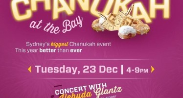 Sydney's BIGGEST Chanukah Event!