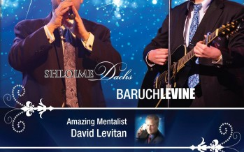 SHLOIME DACHS & BARUCH LEVINE Live In Concert